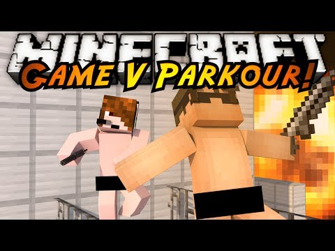 Minecraft Parkour : GAME V Part 4! (SAINTS ROW PARKOUR!)
