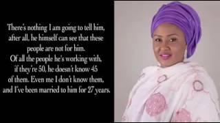 Aisha Buhari interview lambasting her husband