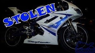 8. 2011 Triumph Daytona 675 SE - Stolen but not forgotten