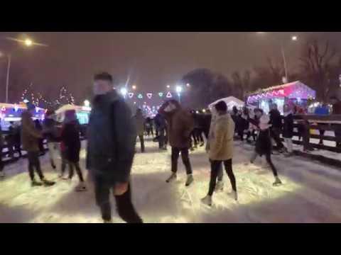 Mannequin Challenge на Стрит-арт катке в Парке Горького