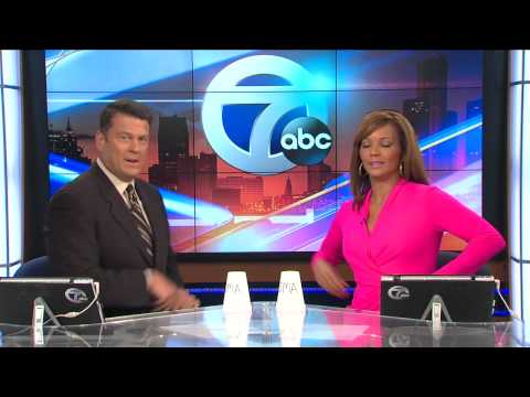 A Secret Handshake. Detroit news anchors challenge other news teams to help SMAsh SMA(Spinal Muscular Atrophy)