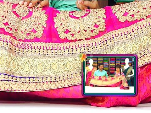 Designer Mangalya Pattu and Fancy Sarees Collection | Sogasu Chuda Tarama | Vanitha TV 12 November 2015 06 37 PM