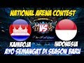 LIVE ARENA KONTES !! SEASON BARU SEMANGAT BARU - INDONESIA VS KAMBOJA | Mobile Legends 04 April 2018