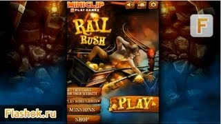 Видеообзор Rail Rush