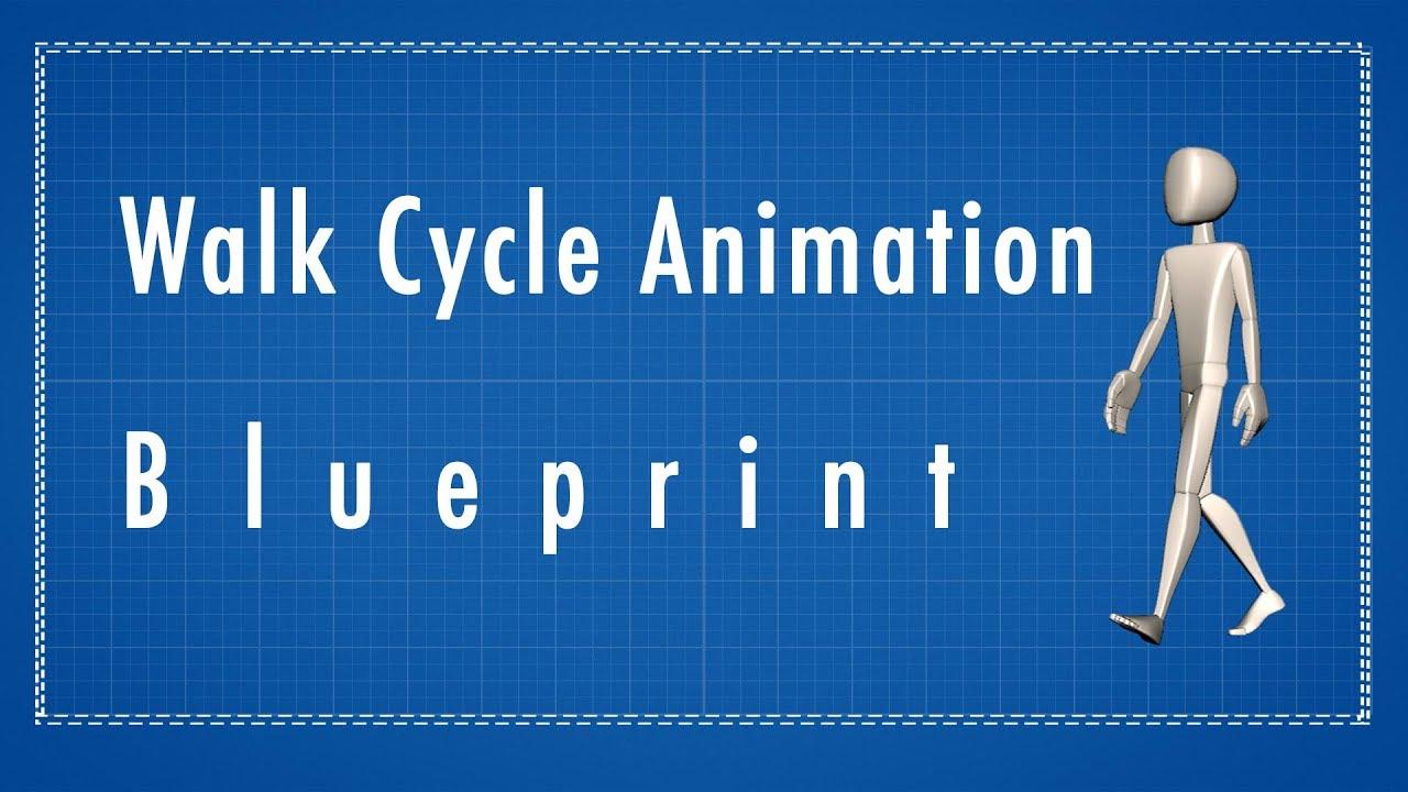 3d walk cycle animation tutorial