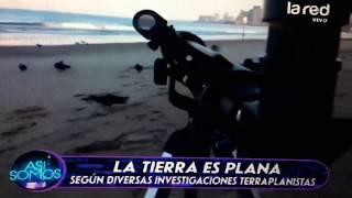 Sálfate habla sobre la Tierra Plana en la TV Chilena