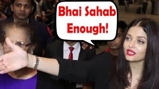 Video Aishwarya Rai Bachchan ANGRY On Media Photographers For Blocking Her Way and Clicking Pictures MP3, 3GP, MP4, WEBM, AVI, FLV Juli 2017
