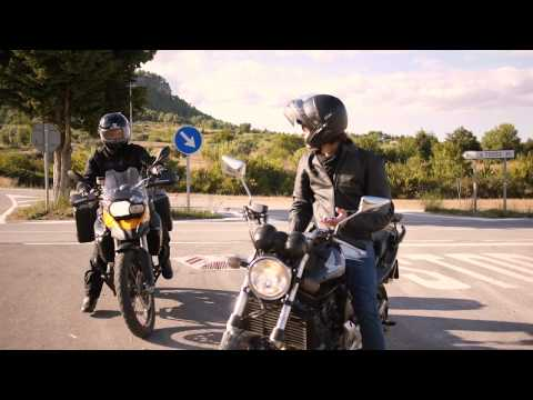 Video of WeRide;Motorcycle,routes,chats