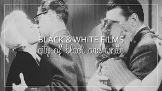 Black&White Film Couples | City Of Black And White