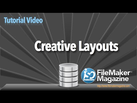 FileMaker Tutorial - Creative Layouts