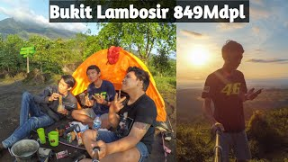 Bukit Lambosir camp ceria with GoPro