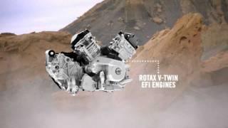 4. 60-hp Rotax 650 V-Twin, liquid-cooled EFI engine