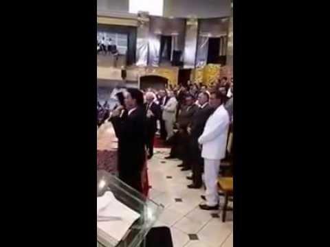 Pr.João de Aquino pregando na Convenção em Imperatriz - MA