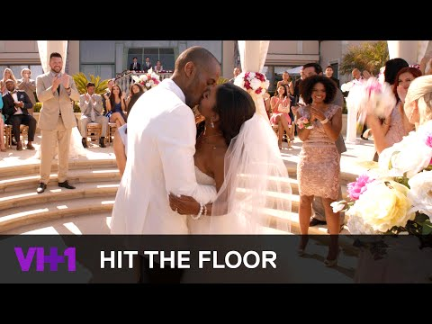 Ahsha & Derek Get Married | Hit The Floor