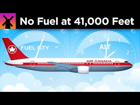An Airplane Ran Out of Fuel at 41,000 Feet. Here's What Happened Next