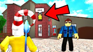 Security Guard Caught This Guy Breaking Into My House.. (Roblox)