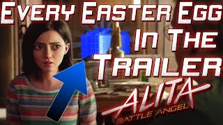 Video EVERY Easter Egg in the Alita: Battle Angel Trailer. EXTREME DETAIL MP3, 3GP, MP4, WEBM, AVI, FLV Desember 2018