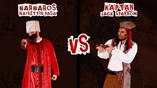 Video Barbaros Hayrettin Paşa Vs Jack Sparrow | Destansı Rap Savaşları | DRS MP3, 3GP, MP4, WEBM, AVI, FLV Desember 2017