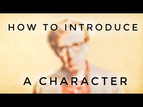 How to Introduce a Character - VIDEO ESSAY - The Woody Allen Style
