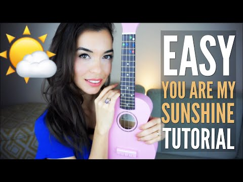 EASY You Are My Sunshine Tutorial For Ukulele (with Free PDF)