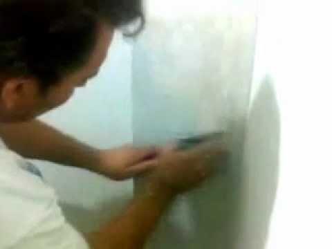 Pasta para cubrir gotele videos videos relacionados - Pasta alisar paredes ...