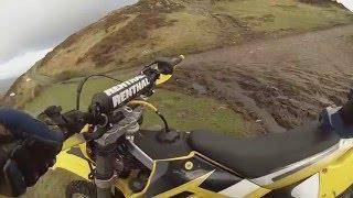 5. 2016 02 16   Trail Ride Lake District   Parkamoor   Gas Gas EC 200