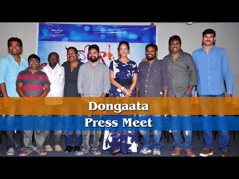 Dongaata Press Meet l Lakshmi Manchu l Adavi Seshu