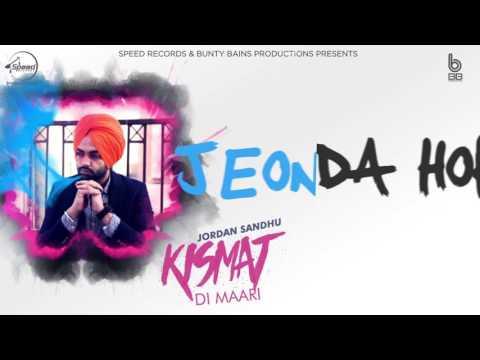Download Kismat Di Maari | Lyrical Video | Jordan Sandhu | Latest Punjabi Song | Speed Records HD Video