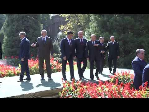 Preşedintele Republicii Moldova a ţinut un discurs la întrunirea Consiliului şefilor de state CSI de la Duşanbe