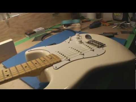 Fender Stratocaster Hardtail Setup