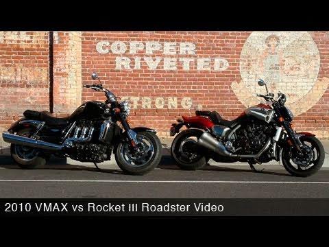 2010 Star VMAX vs Triumph Rocket III Roadster – MotoUSA