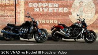 2. 2010 Star VMAX vs Triumph Rocket III Roadster - MotoUSA