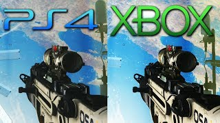 PLAYSTATION 4 vs XBOX ONE graphics - Call of Duty: Ghosts Gameplay - (XB1 vs PS4 1080p HD)