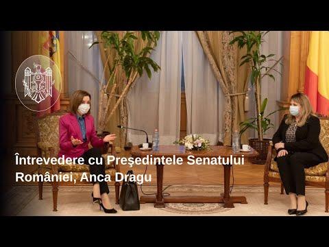 Președintele Maia Sandu s-a întâlnit la București cu Președintele României Klaus Iohannis