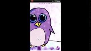 Go Launcher EX Theme Penguin YouTube video