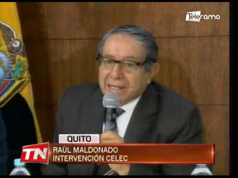 Autoridades dan detalles sobre proceso de intervención CELEC EP