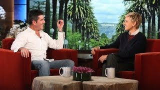 Simon Cowell on His Son's Name