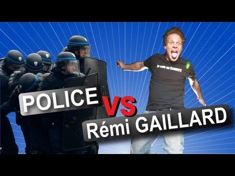 Rémi GAILLARD vs POLICIE