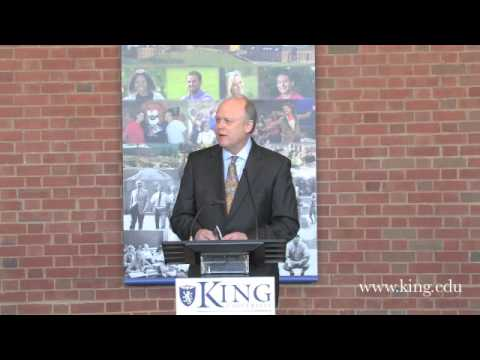 King University Announcement Press Conference