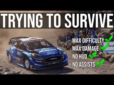 Trying To Survive One Of The Hardest Stages In WRC 8