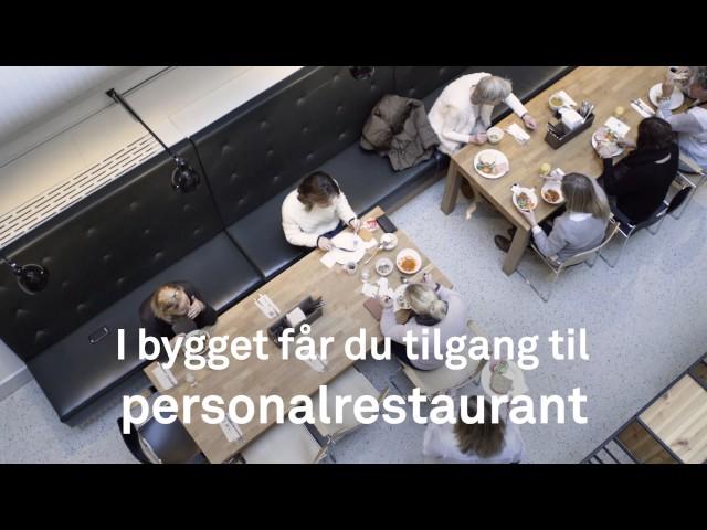 Kirkegata 15 - Topp moderne lokaler midt mellom Vika og Bjørvika - Kvadraturen