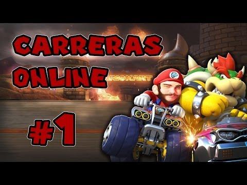 Mario Kart 8 Multiplayer 1# | WiiU Gameplay.