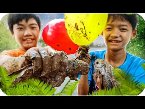 Tony | Thử Thách Bắt Cá Bằng Bong Bóng - Dây Diều - Cần Câu
