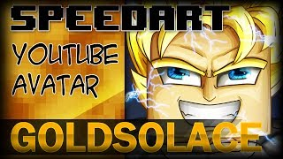 Minecraft SpeedArt - GoldSolace Icon