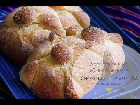 Pan de Muerto- How to make Mexican Pan de Muerto_ Bread of the Dead