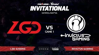 LGD Gaming против Invictus Gaming, Первая карта, SL Imbatv Invitational S5 Qualifier