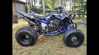 9. Rebuild Yamaha Raptor 700/ hybrid Swap engine Yamaha MT-07 / exhaust sound /ASG CzÄ™stochowa
