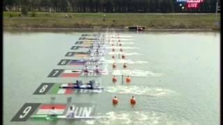 2015 Račice K2 200m Men  Canoe Sprint European Championships