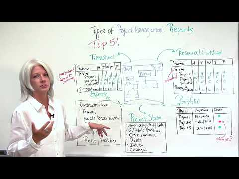 Top 5 Project Management Reports Video
