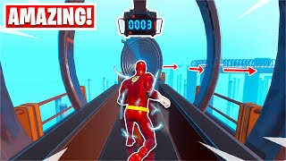 I found the COOLEST Deathrun level EVER... *MUST PLAY* (Fortnite Creative)